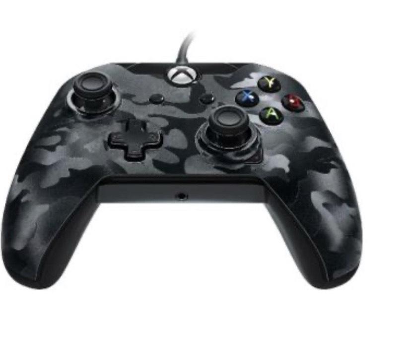 Mando PDP negro camuflaje Xbox One