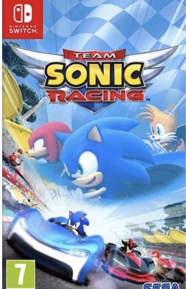 Nintendo Switch Team Sonic Racing