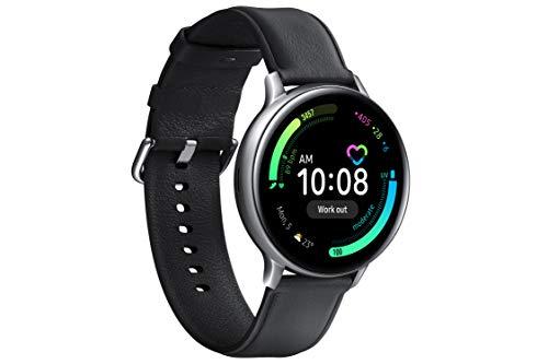Samsung Galaxy Watch Active 2 - Smartwatch de Acero, 40mm, color Plata, LTE [Versión española]