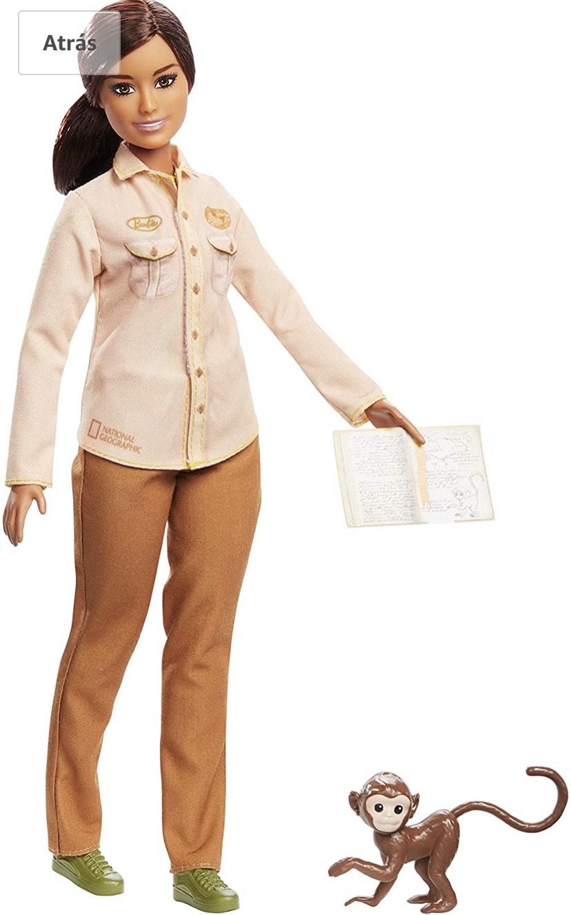 Barbie National Geographic Quiero Ser Conservadora de la naturaleza