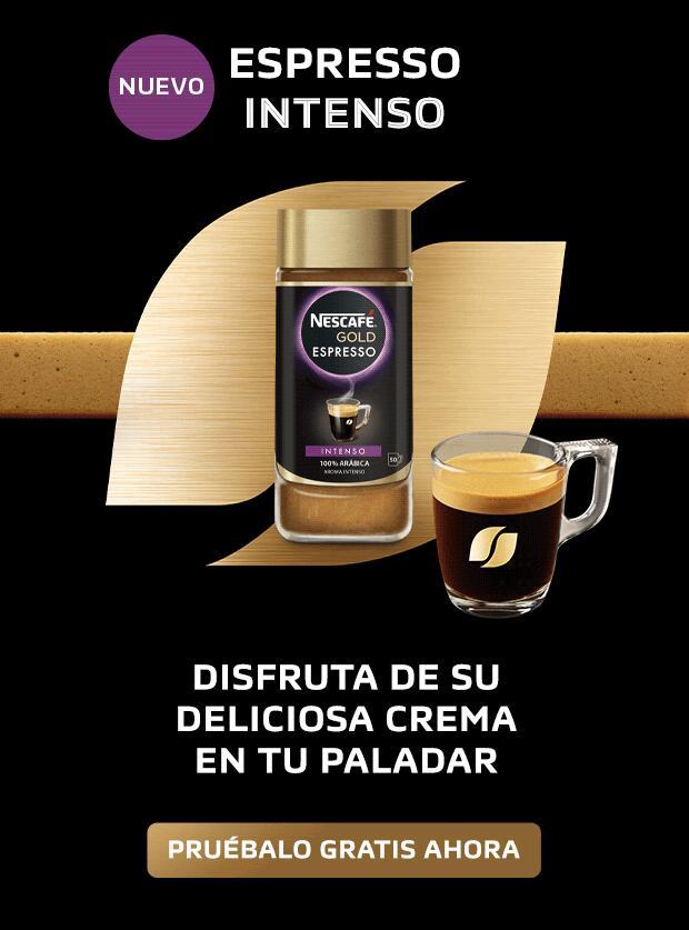 Prueba GRATIS el nuevo Nescafé Gold