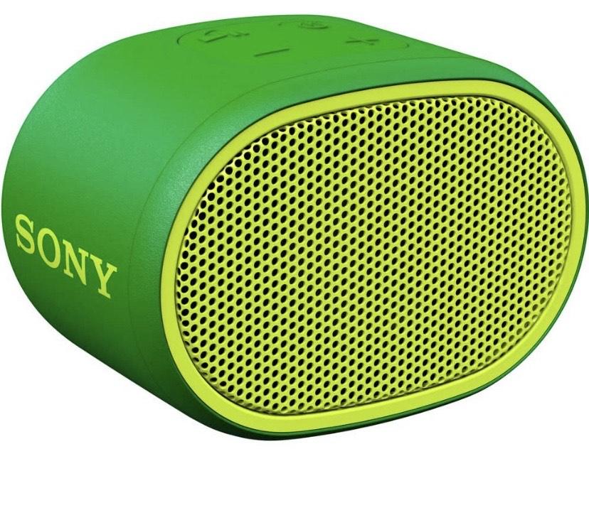 Sony SRSXB01G - Altavoz inalámbrico portátil