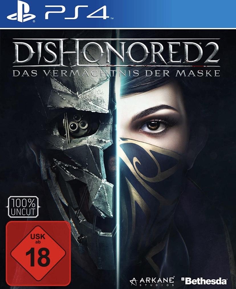 Dishonored 2: Das Vermächtnis Der Maske - Day One Edition [Importación Alemana]