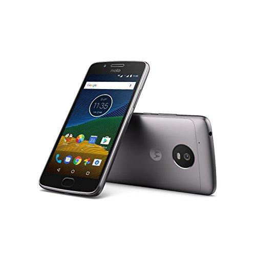 Moto G5 - 5'' Full HD, 4G, cámara 13 MP, 3 GB RAM, 16 GB Memoria interna