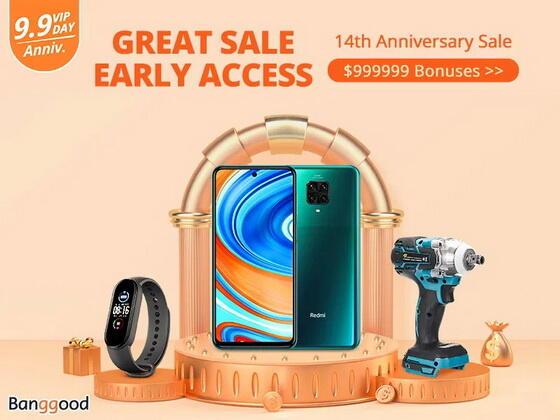 Ofertas especiales por el 13° aniversario de Banggood Productos de oferta a partir de $ 9,99