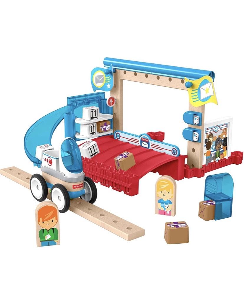 Fisher-Price Wonder Makers Centro de envíos, juguetes construcción niños