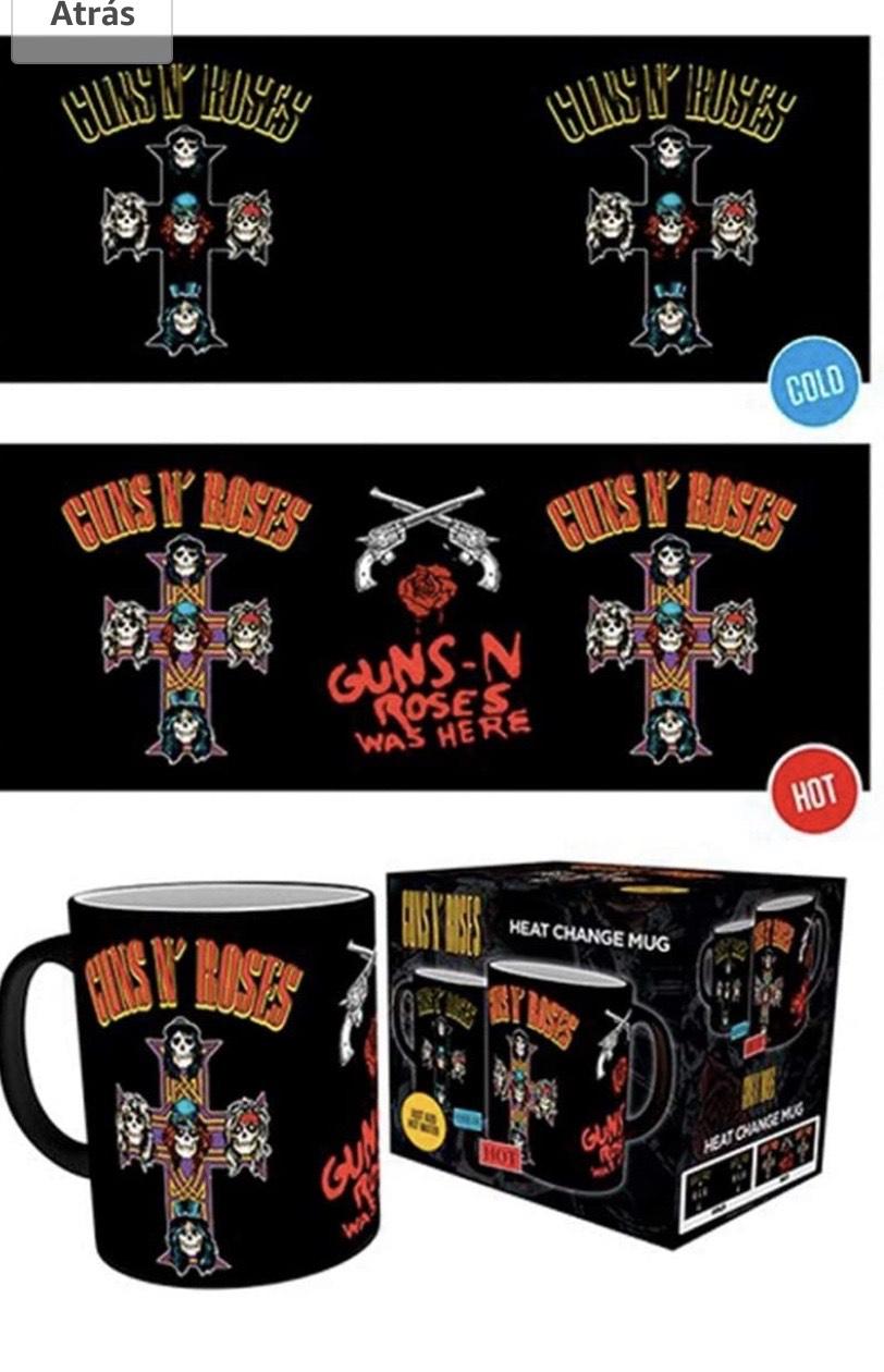 Guns N Roses, Cross, Taza Mágica cambiante de color