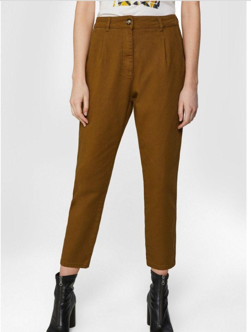 We Fashion Damenhose Mit Hoher Taille Und Tapered Leg talla 46