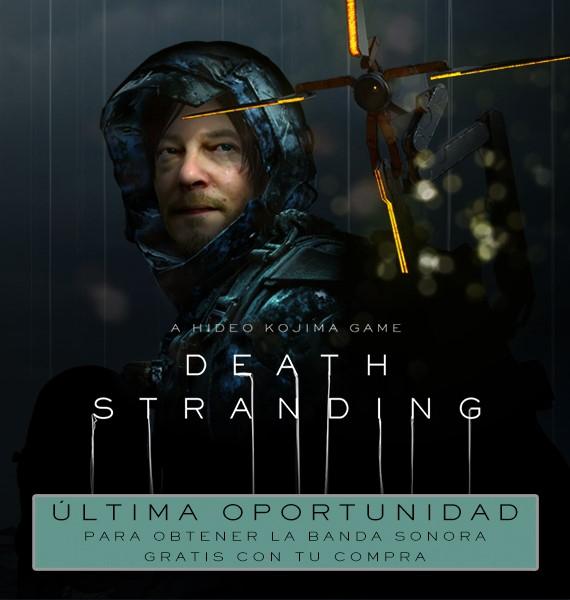 Death Stranding para PC al -25% + Banda sonora de regalo (última oportunidad)