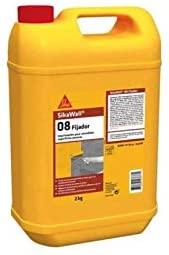 SikaWall 08 Fijador, Imprimación para fijar superficies porosas, 2kg, Blanco
