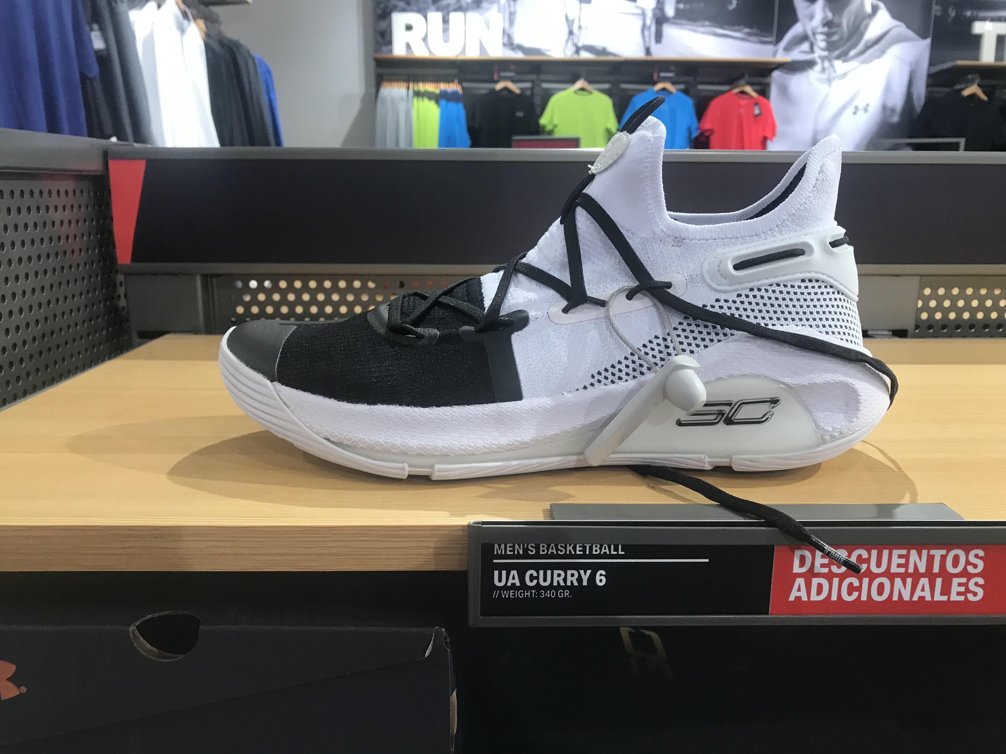 Zapatillas Baloncesto Curry 6 en Outlet SS de los Reyes