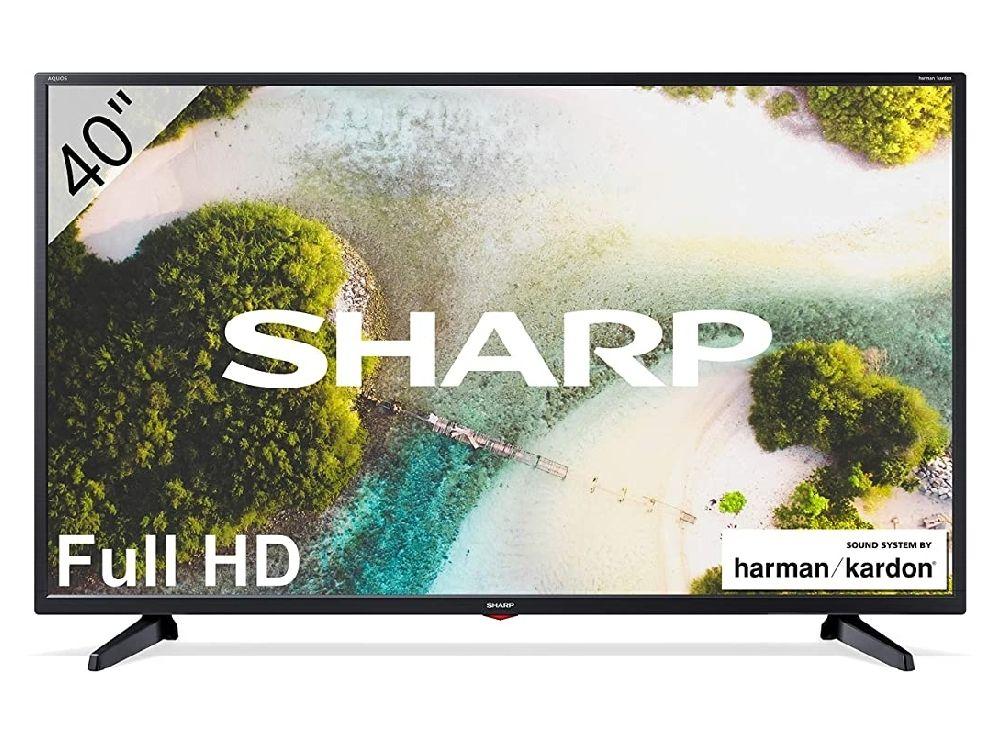 """Tv Sharp 40CF3E FHD de 40"""" con Sistema de sonido harman/kardon"""
