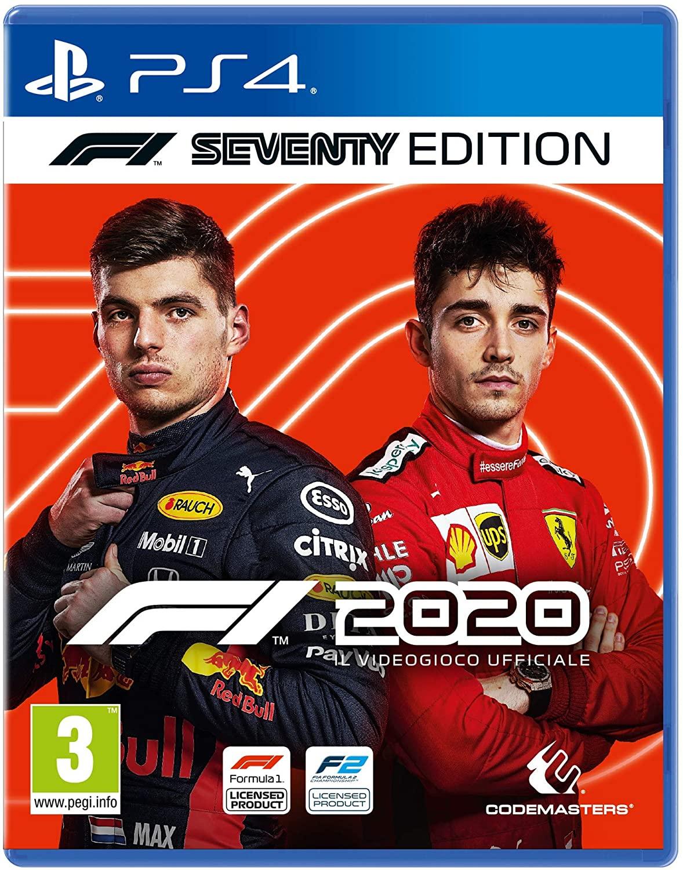 F1 2020 PlayStation 4 solo 25€