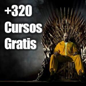 Recopilación +320 Cursos Gratis (Udemy, Español-Inglés)