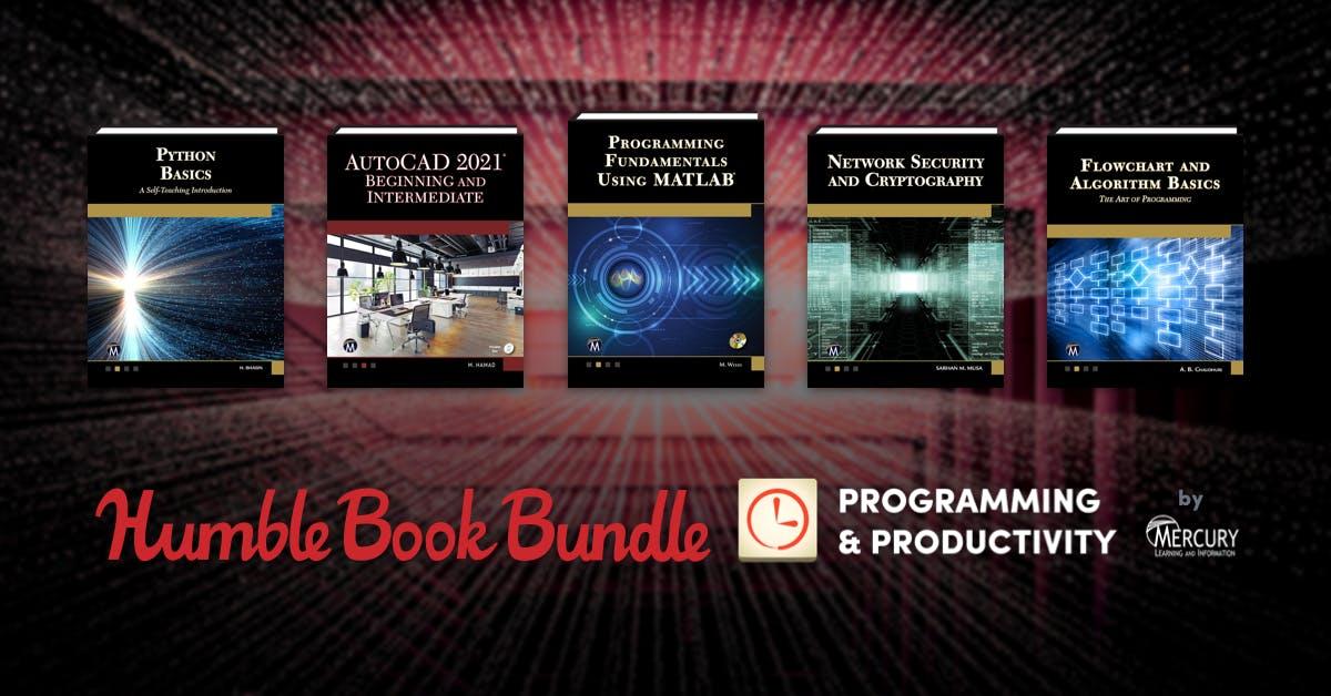 Bundle +20 libros ciberseguridad Humble Bundle