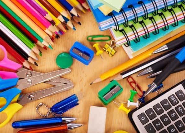 Productos escolares, de oficina o del hogar por menos de 1 euro.