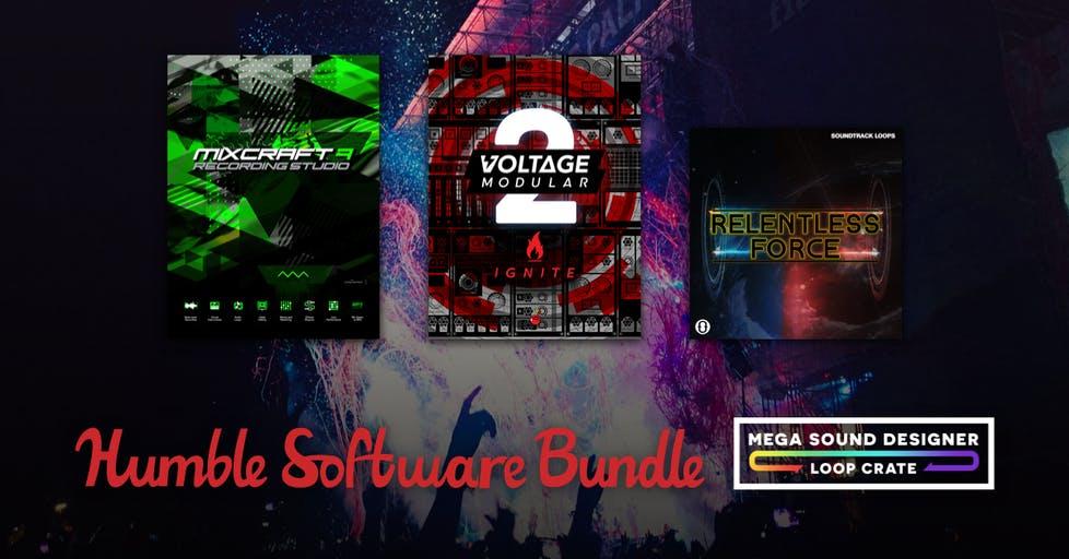Bundle +30 software sonido Humble Bundle