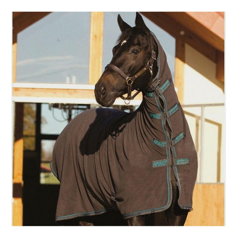 HORSEWARE AMIGO ALL IN 1 - MANTA POLAR ESCALIBUR/GUNMETAL/AQUA