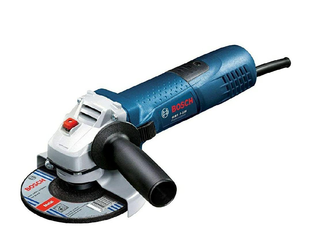 Bosch Professional GWS 1400 - Amoladora angular (1400 W, 11000 rpm, Disco 125 mm, electrónica constante, en caja)