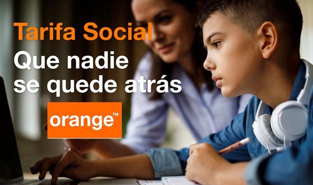 ORANGE Tarifa Social 100Mb+ 3Gb datos y llamadas ilimitadas