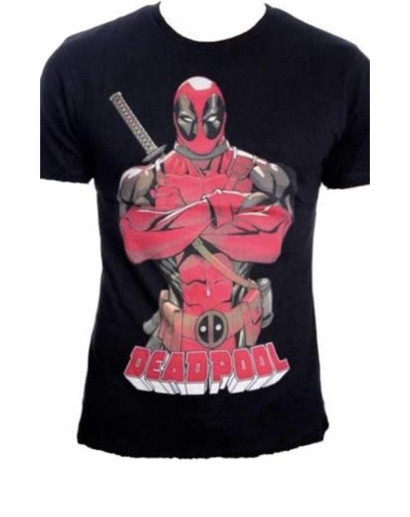 Talla S camiseta Deadpool Pose