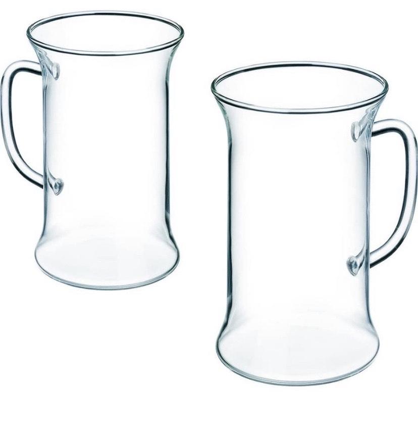 Set 6 Vasos-Taza té Irish, con asa, capacidada de 0,25 litros Bohemia