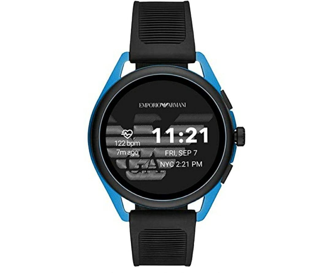 Emporio Armani Smartwatch Pantalla táctil para Hombre de Connected con Correa en Plástico ART5024