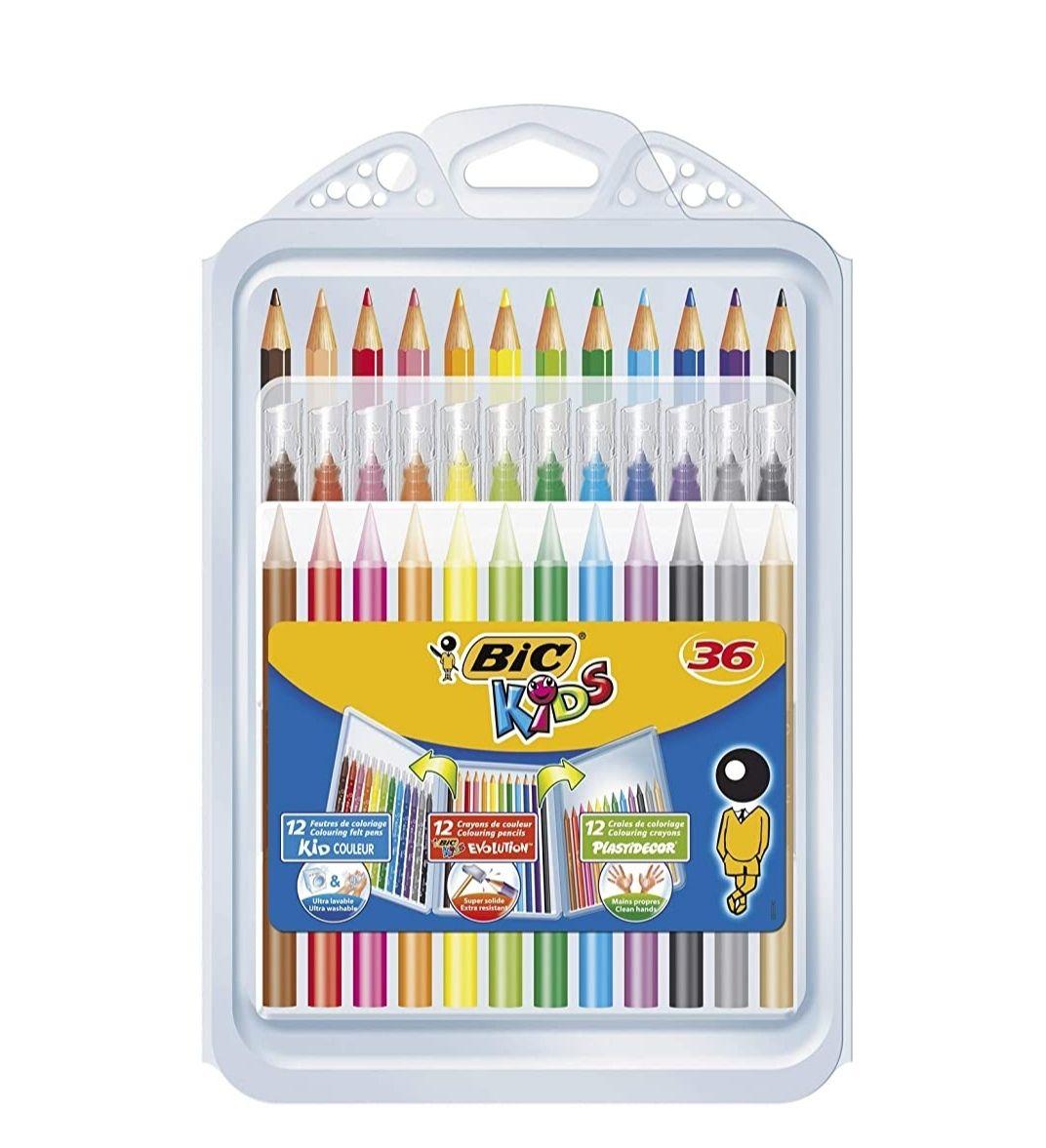 BIC Kids Set para Colorear. 36uds. PRECIO AL TRAMITAR.