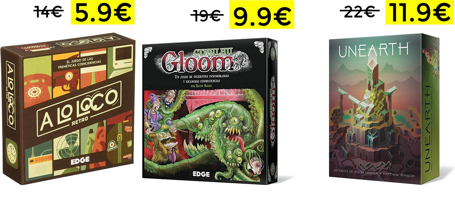 Preciazos en juegos de mesa Edge Entertainment desde 5.9€