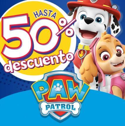 Puzzle 48 piezas 2€ y más ofertas de Patrulla Canina (en tienda POLYJUGUETES)