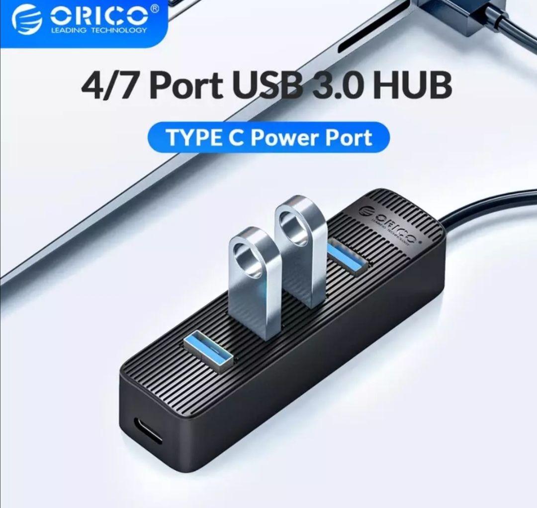 HUB ORICO USB3.0 + USB-C