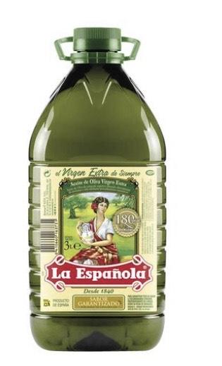 La Española® Aceite de oliva virgen extra 3 litros
