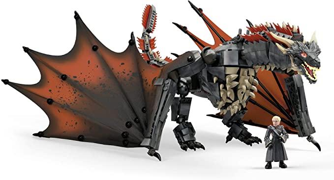 Mega Construx Juego de Tronos bloques de construcción - Game Of Thrones Daenerys and Drogon