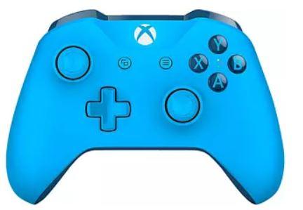 Mando - Inalámbrico, Xbox One Wireless Controller Mando, Azul