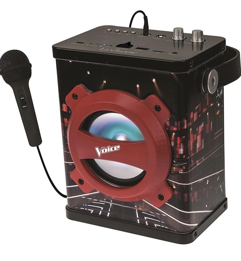 La Voz, The Voice - Altavoz Portátil Inalámbrico con Micrófono, Karaoke