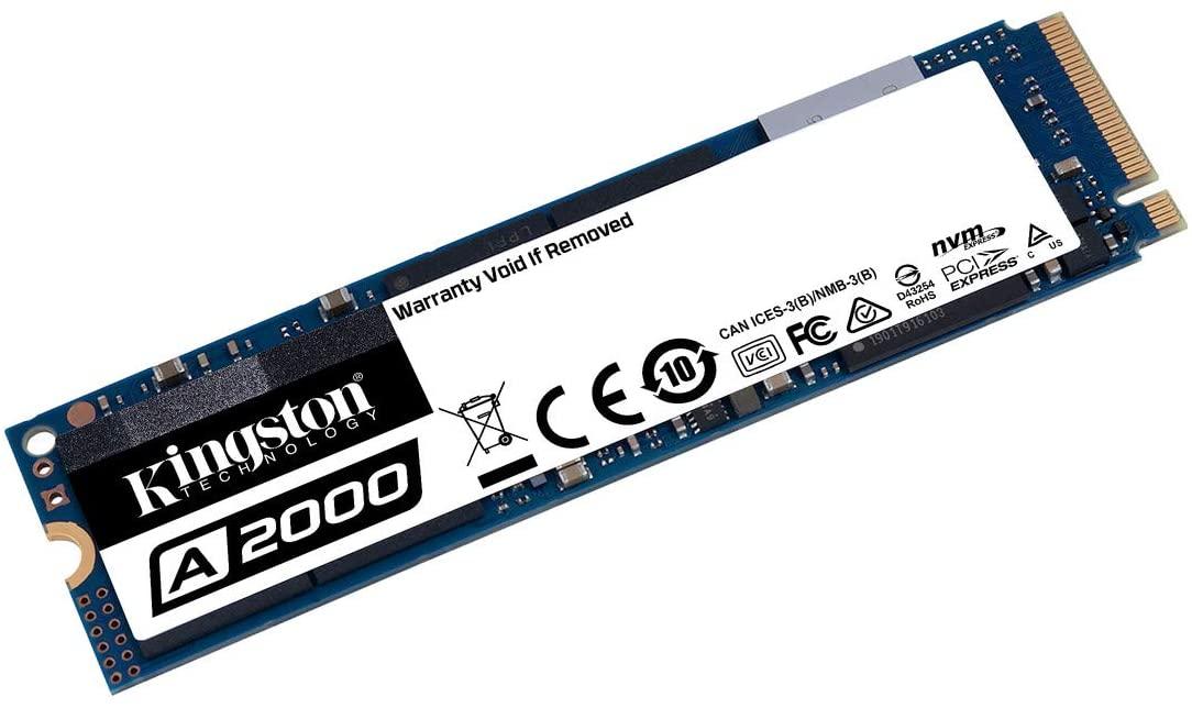 Kingston A2000 500Go (SA2000M8/500G) SSD NVMe PCIe M.2 TLC 3D