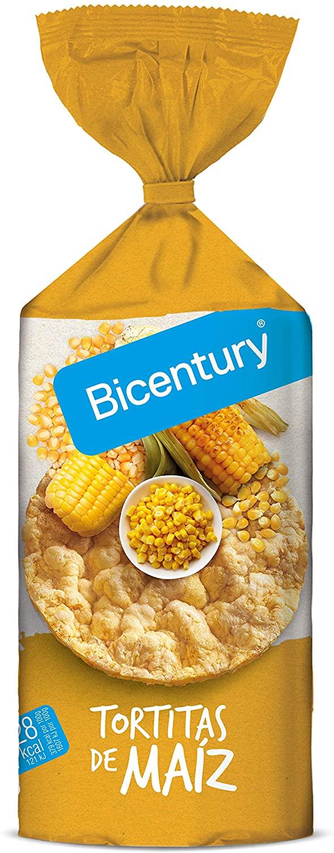 Bicentury - Tortitas De Maíz con sal, 130 g tan solo 81 centimillos (compra recurente)