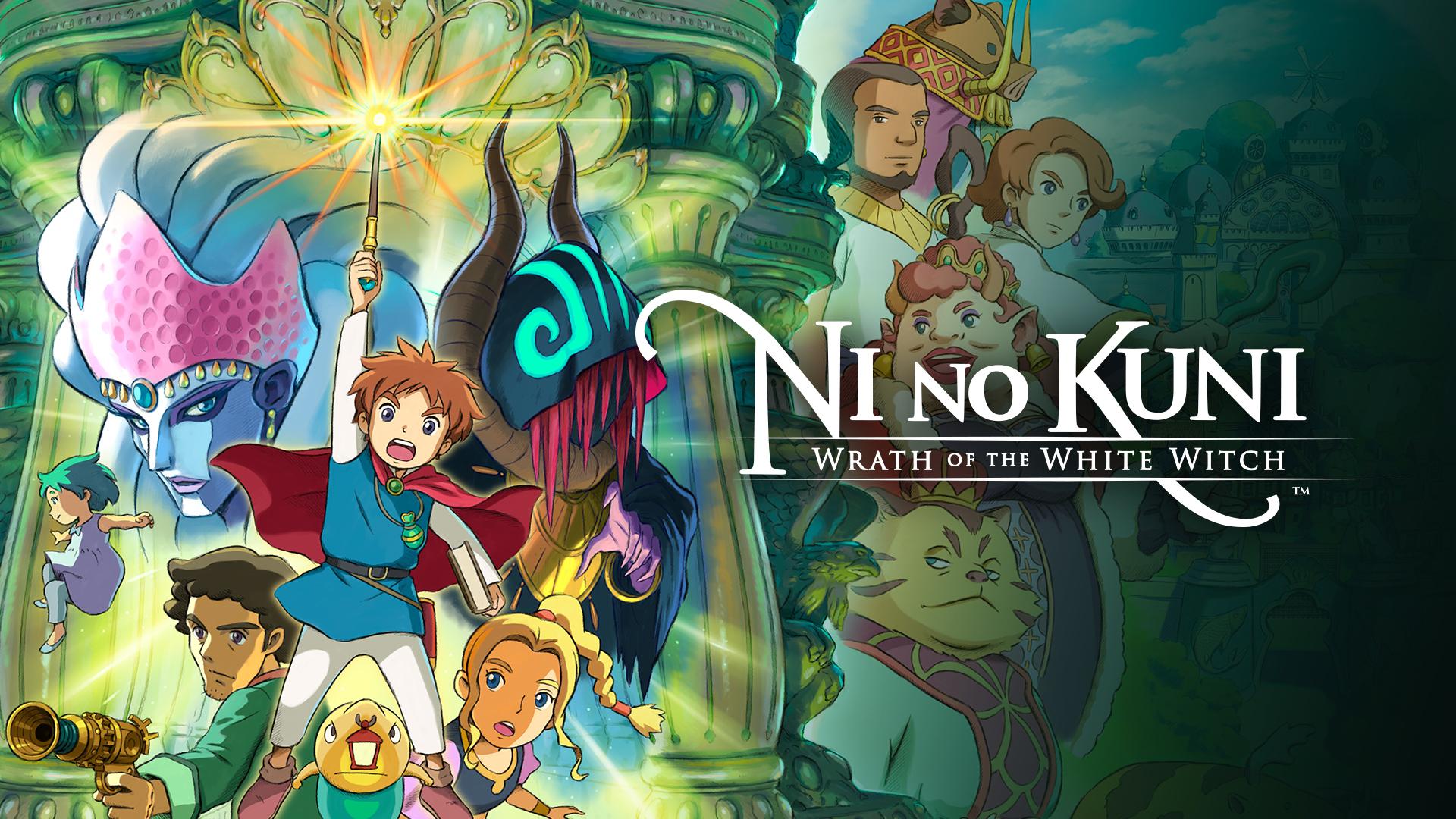 Ni no Kuni: La ira de la bruja blanca, Nintendo Switch (Eshop EEUU)