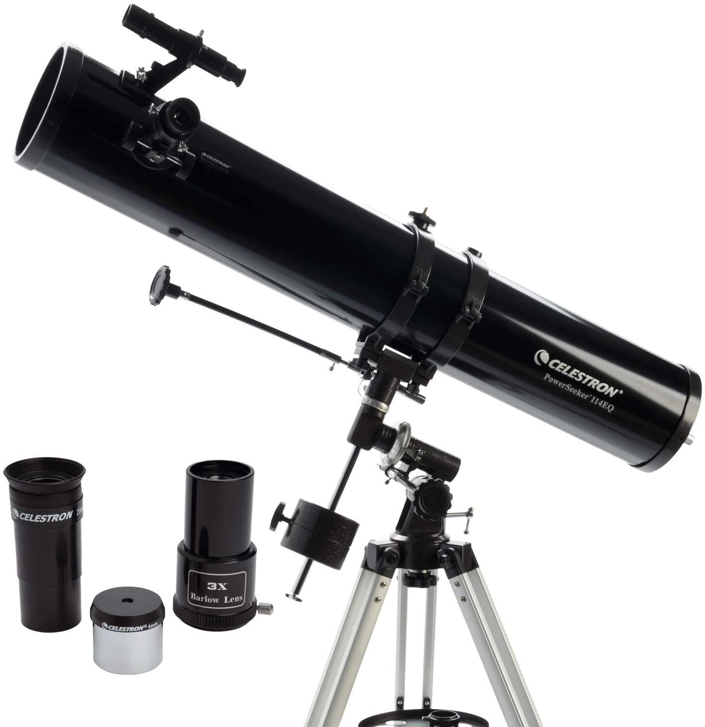 Telescopio reflector Celestron Powerseeker 114 EQ -