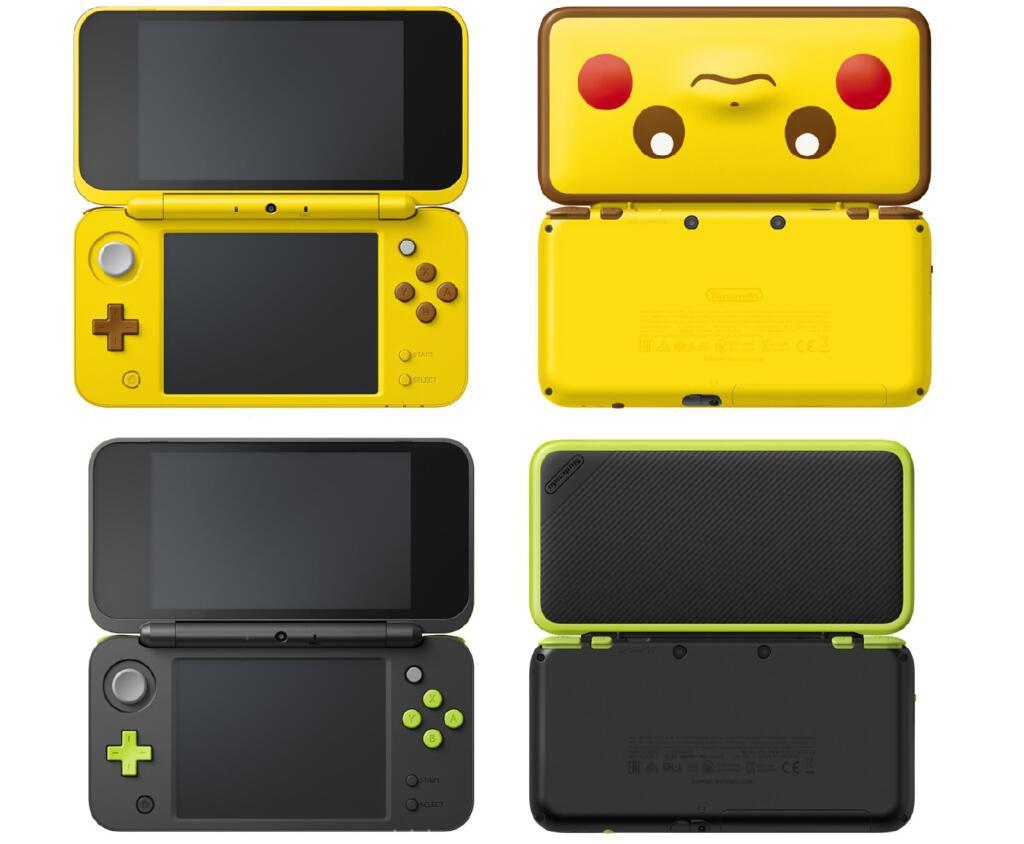 Nintendo 2DS XL [Pikachu ed. o verde lima + Mario Kart 7]