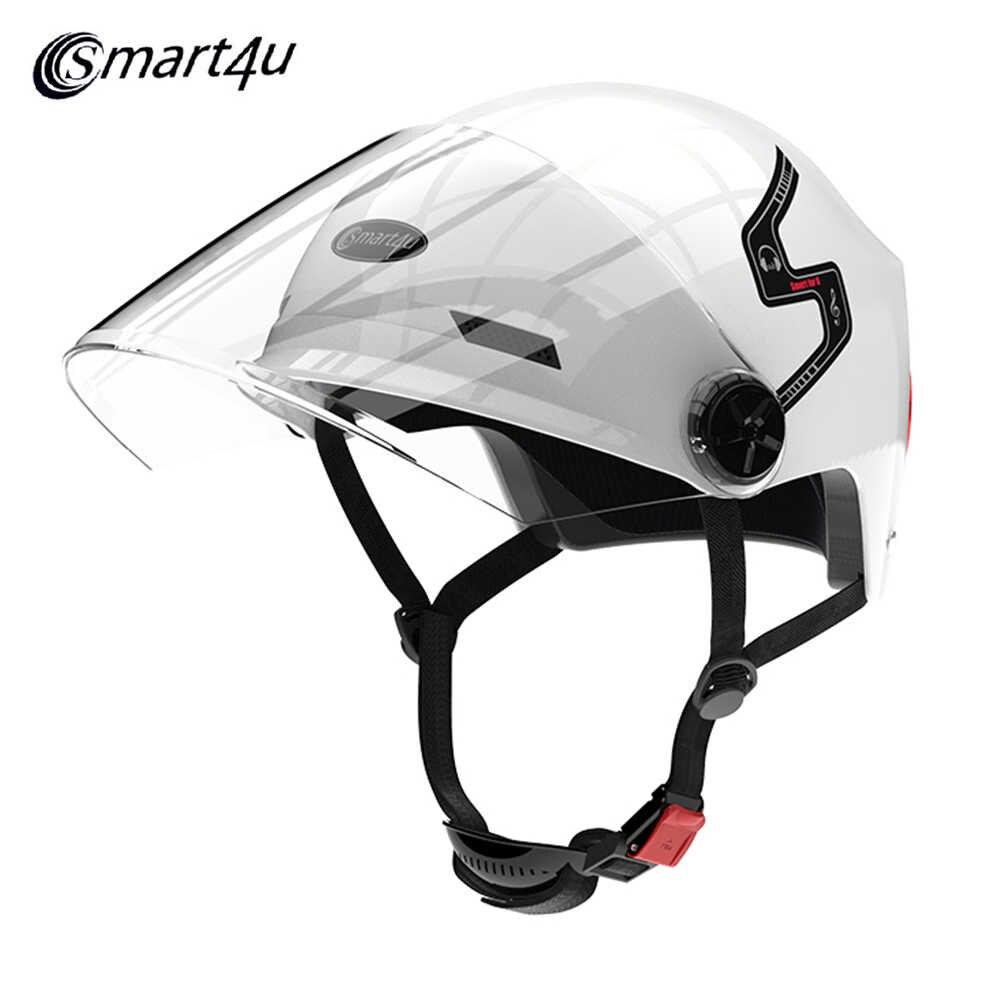 Smart4u E10 inteligente casco de motocicleta Bluetooth en 2 colores.
