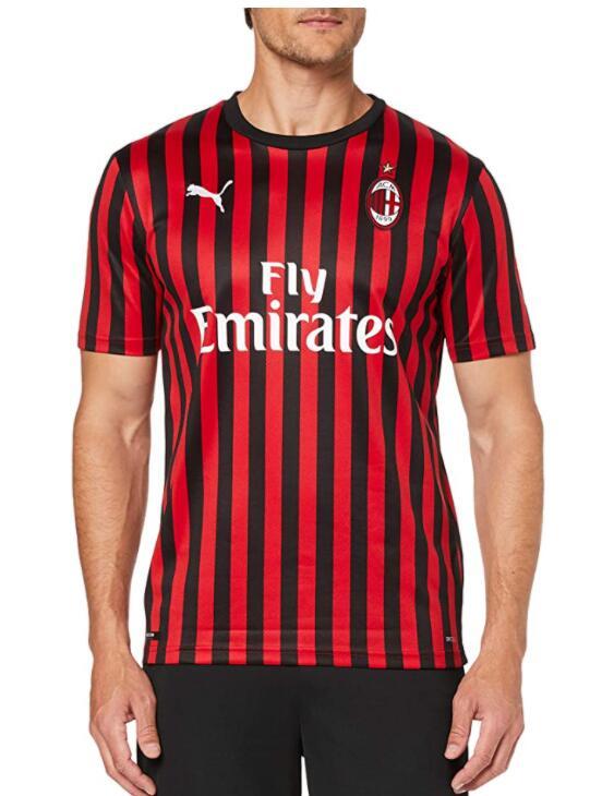 TALLA M - PUMA AC Milan 1899 Home Shirt Repl.- Camiseta para Hombre