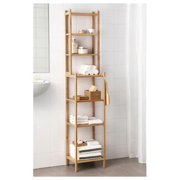 Estantería de bambú 163cm [IKEA]