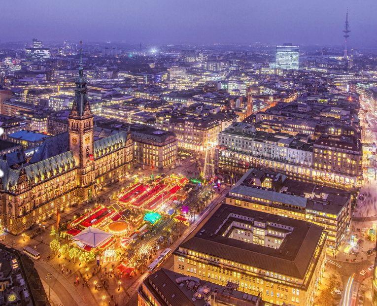 Hamburgo(Alemania) 3 noches Hotel 3* +Vuelos (Barcelona y otros) (Puente Diciembre) (PxPm2)