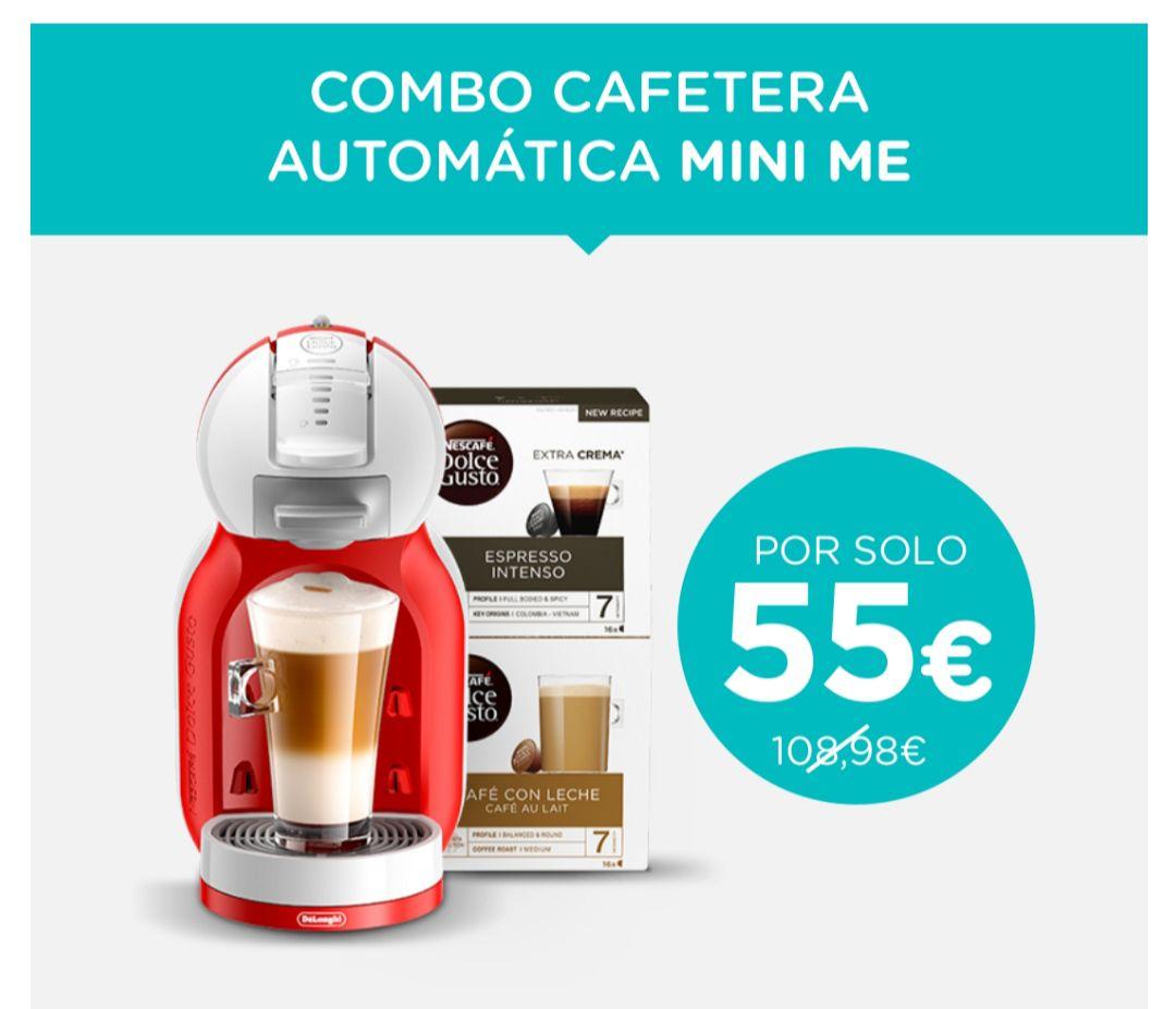 Dolce Gusto Mini Me + 2 cajas de café.