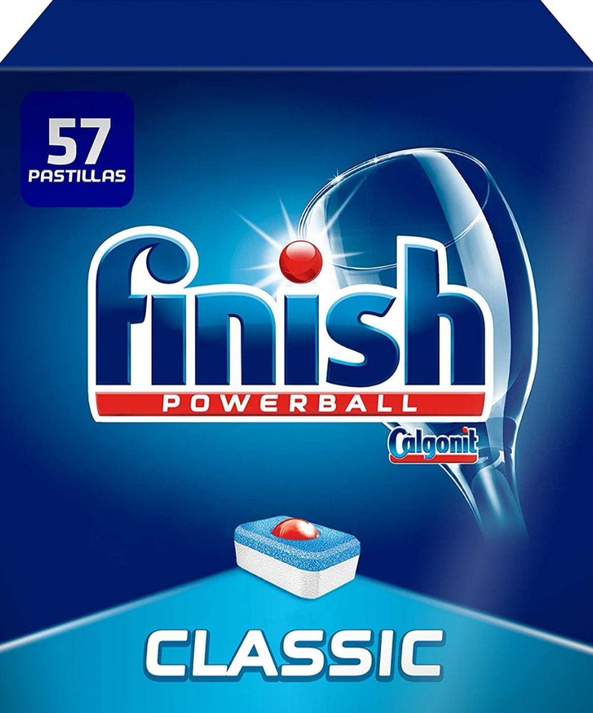 Finish Classic Regular Pastillas para Lavavajillas - 57 Pastillas (c. Recurrente)