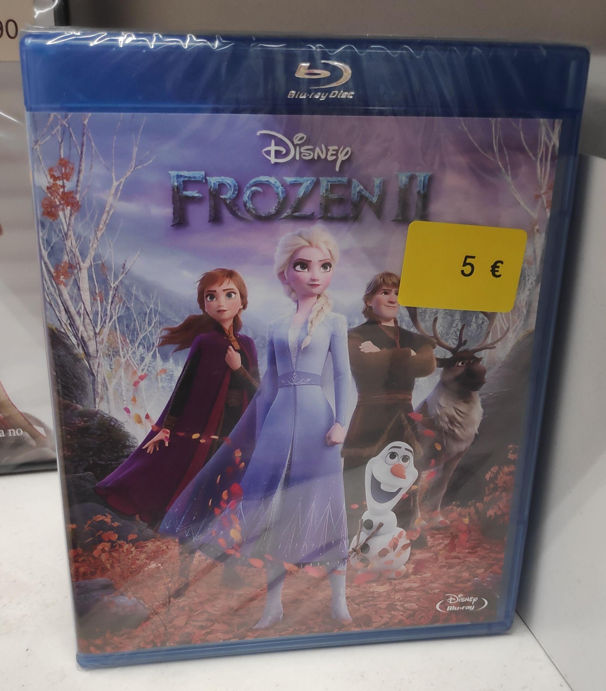 Frozen 2 Blu-ray Carrefour de Plaza Norte 2