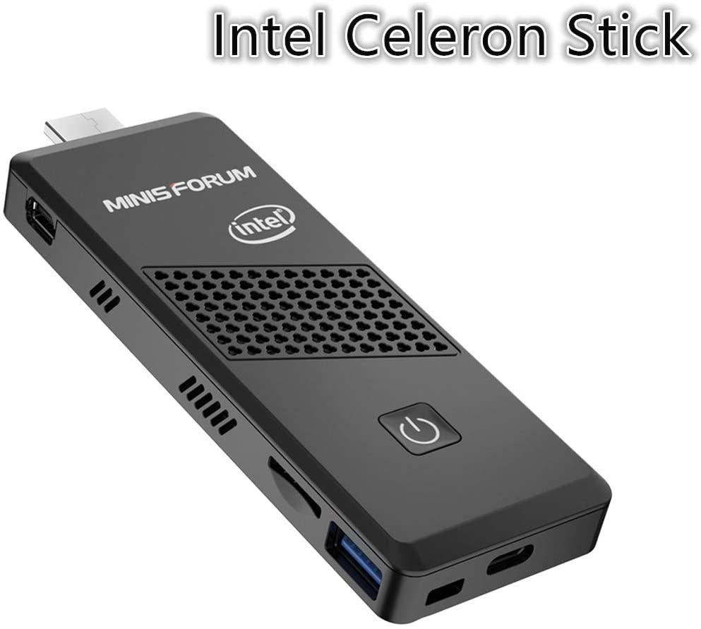Mini PC Stick Intel Celeron N4000/4GB/64GB WIN10PRO BT5.0 USB3.0