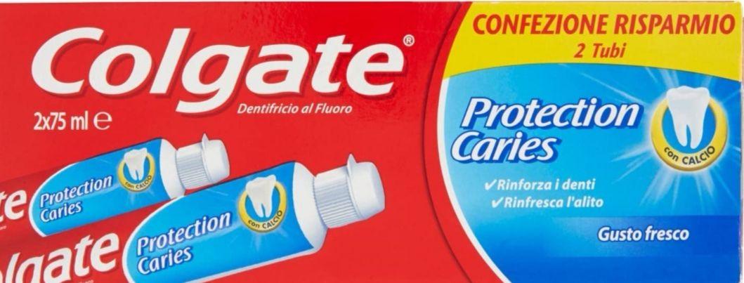 COLGATE - Pasta Dentifrica Fluor+Calcio Pack 2 Tubo 75Ml (Precio al tramitar)