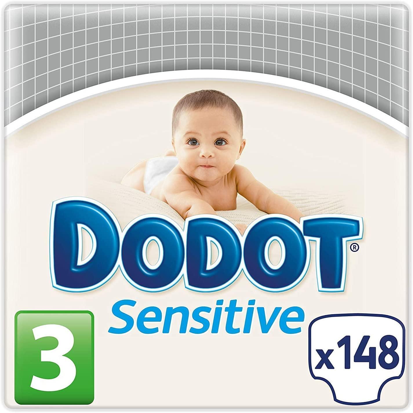 148 pañales Dodot Sensitive
